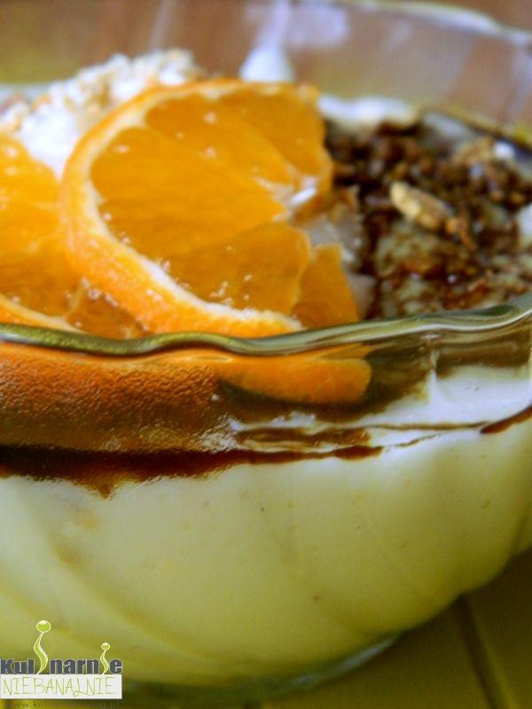 kasza manna, pomarańcza, olej z pestek dyni