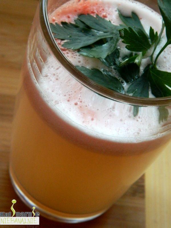 Sok z białej rzodkwi i grejpfruta