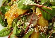 sałatka z selerem w tempurze